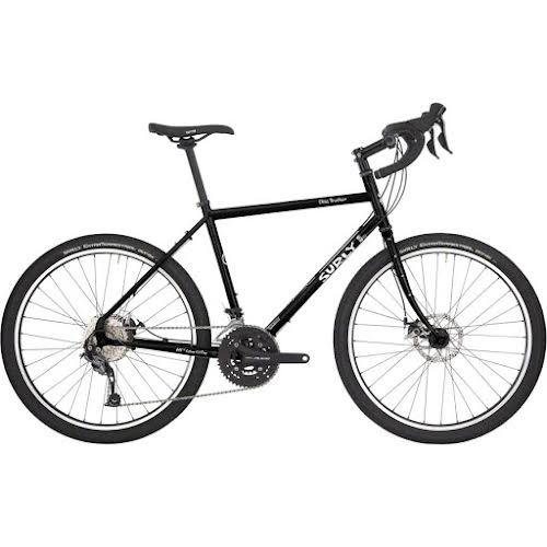 Surly Disc Trucker Bike - 700c, Hi-Viz Black