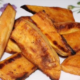 Baked Sweet Potato Wedges.