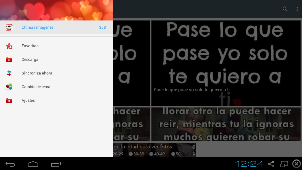 Cartelitos de Amor- screenshot