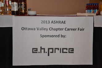 Photo: 2013 Career Fair sponsored by E.H. Price