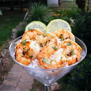 Margarita Grilled Shrimp.