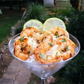 Margarita Grilled Shrimp.