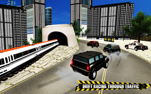 Train vs Prado Racing 3D  screenshots 12