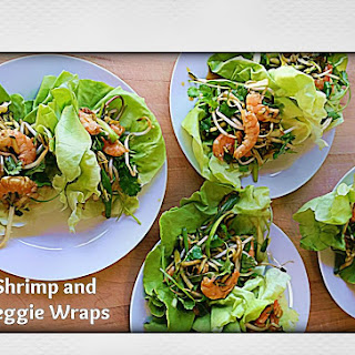 Shrimp and Veggie Wraps