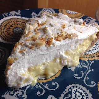 THM Coconut Cream Pie.