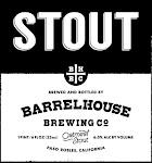 BarrelHouse Stout - Oatmeal Nitro Stout
