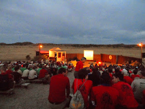 Photo: The 1st evening's introduction to the history of Philmont.