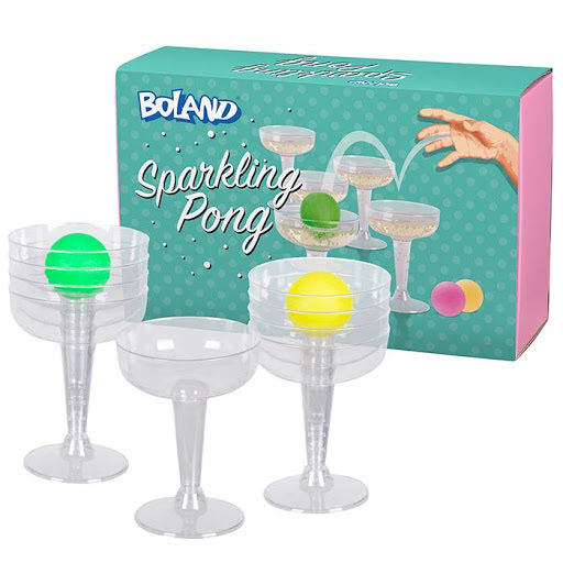 Spel, party pong