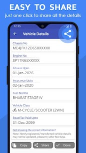 Vehicle Owner Details India App Download for Android 5