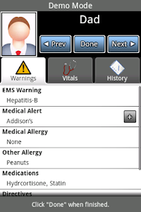E-mergency screenshot 1