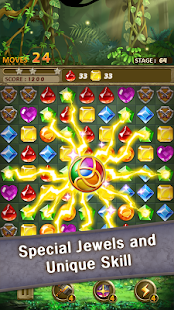 Jewels Jungle : Match 3 Puzzle - náhled