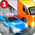Police Car Chase Cargo Truck Driver – Truck Games icon