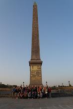 Photo: Ráno jsme přijeli k Obelisku (Obélisque) na náměstí Svornosti (Place de la Concorde)
