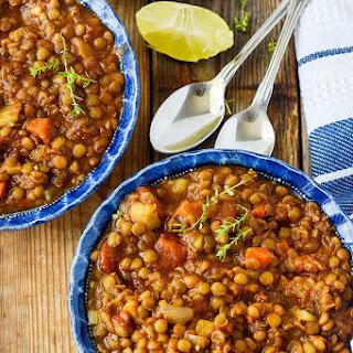Vegan Lentil Stew.