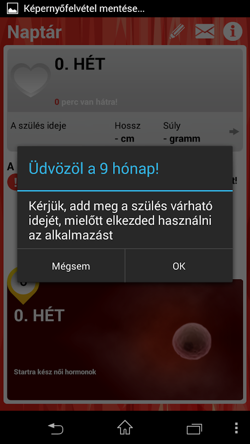 9 hónap- screenshot