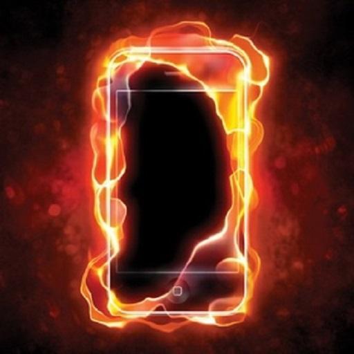 حرق شاشة الهاتف بالنيران PRANK 工具 App LOGO-硬是要APP