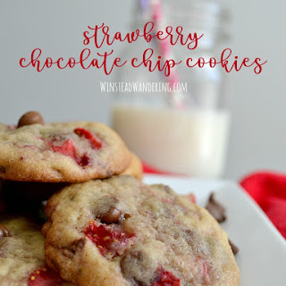 Strawberry Chocolate Chip Cookies Recipes.