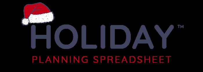 Holiday Planning Spreadsheet Logo