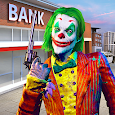 Clown Crime City Mafia: Bank Robbery Game