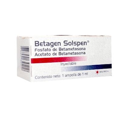 Betametasona Betagen Solspen 1ml 1 Ampolla Biotech