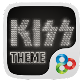 Kiss Go Launcher Theme