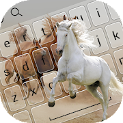 Cute Horse Keyboard