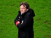 Een tevreden Franky Vercauteren na de winst van Antwerp tegen Waasland-Beveren