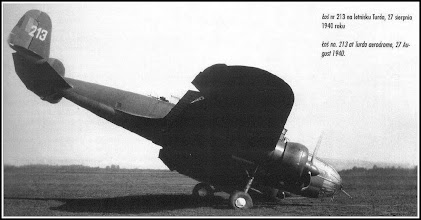 Photo: Aeroportul Turda - 1940 - Avion PZL37  - sursa Suciu Petru (Facebook) https://www.facebook.com/photo.php?fbid=869996343073661&set=pcb.869997016406927&type=1&theater