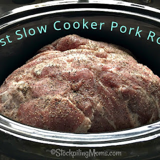 Best Slow Cooker Pork Roast.