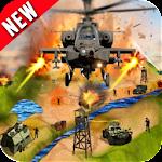 Gunship Air Helicopter War 3D Icon