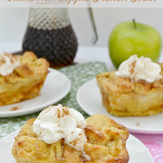 Cinnamon Apple French Toast #Recipe
