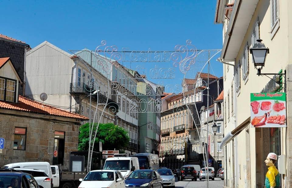 "Cidade de Lamego engalanada para a ""Romaria de Portugal"""