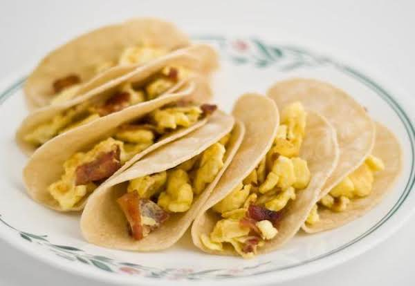 Bacon And Egg Tacos Recipe