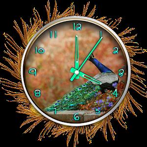 Bird Clock Live Wallpaper
