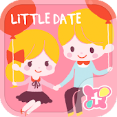 Cute wallpaper-Little Date-