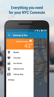 NYC Subway and Bus (w MTA Map)- screenshot thumbnail