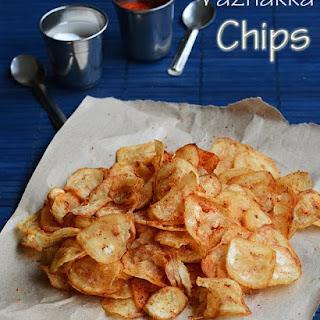 Easy Vazhakkai Chips