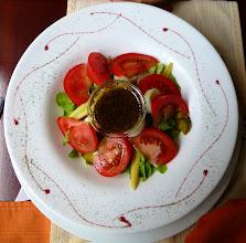 Photo: Salad at the Posada del Angel hotel