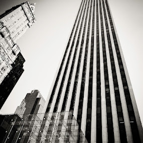 The Big Apple by Al Mansur - Buildings & Architecture Office Buildings & Hotels ( black and white, pwcbuilding )