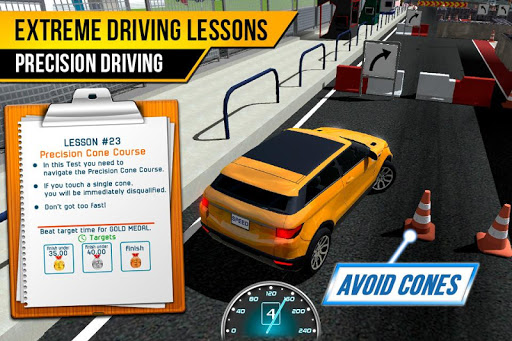 Driving School Test Car Racing 1.2 screenshots 5