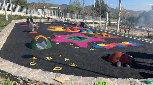 El Parque de las Familias toma forma con nuevo suelo y juegos infantil