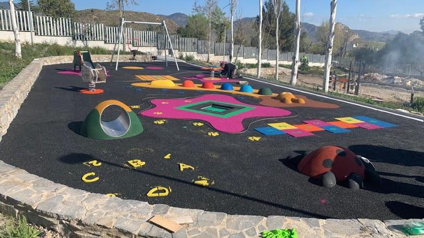 Novedades instaladas estos días en el Parque de las Familias.
