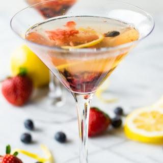 Lemon Berry Martini.