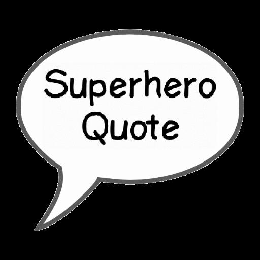 Superhero Quote of the Day 漫畫 App LOGO-APP開箱王