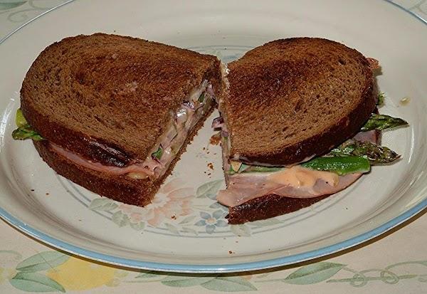 Very Tasty Asparagus Sandwich Recipe