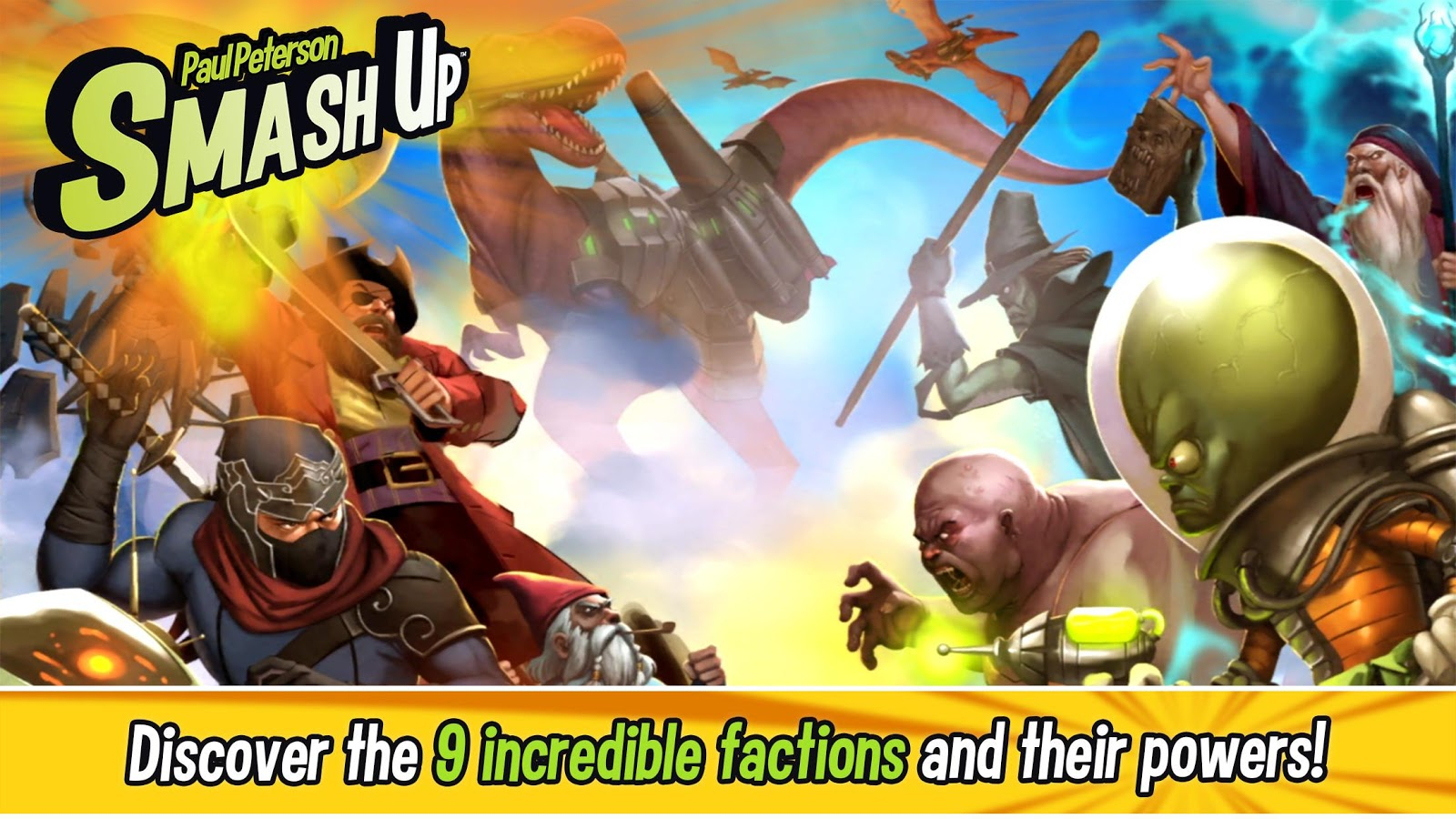 Smash Up - conquer the bases with your factions- screenshot