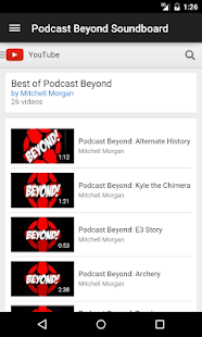 Podcast Beyond Soundboard- screenshot thumbnail
