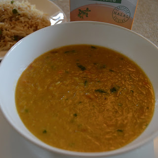 Masoor (red lentil) Dal.