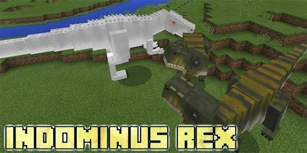 Indominus Rex mod MCPE - náhled