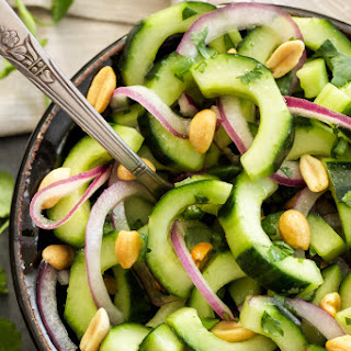 Crunchy Thai Cucumber Salad